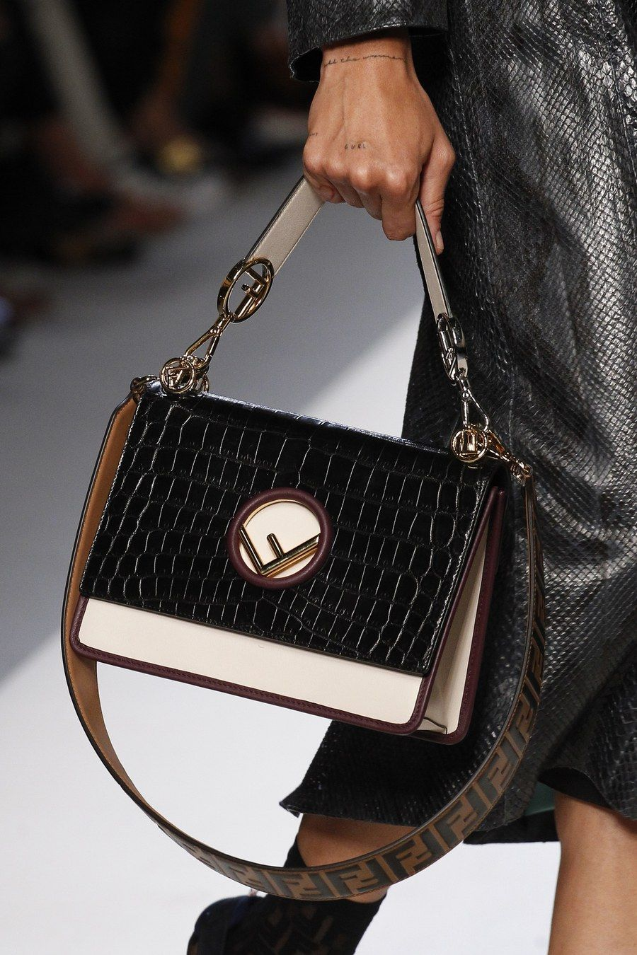 779ae33c3d44 Obsessed With Authentic Designer Handbags. Fendi Spring 2018 Ready-to-Wear  collection