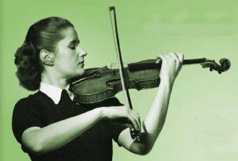Johanna Martzy 26 October 1924 13 August 1979 Hungarian Violinist Musicien
