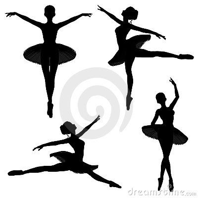 Ballet Dancer Silhouettes stage sign? | Ballet silhouettes ...