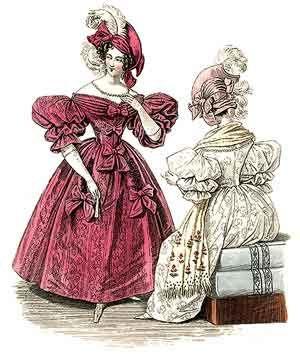 1830s Womens Clothing | Fashion plates, Victorian era fashion, 1830s fashion
