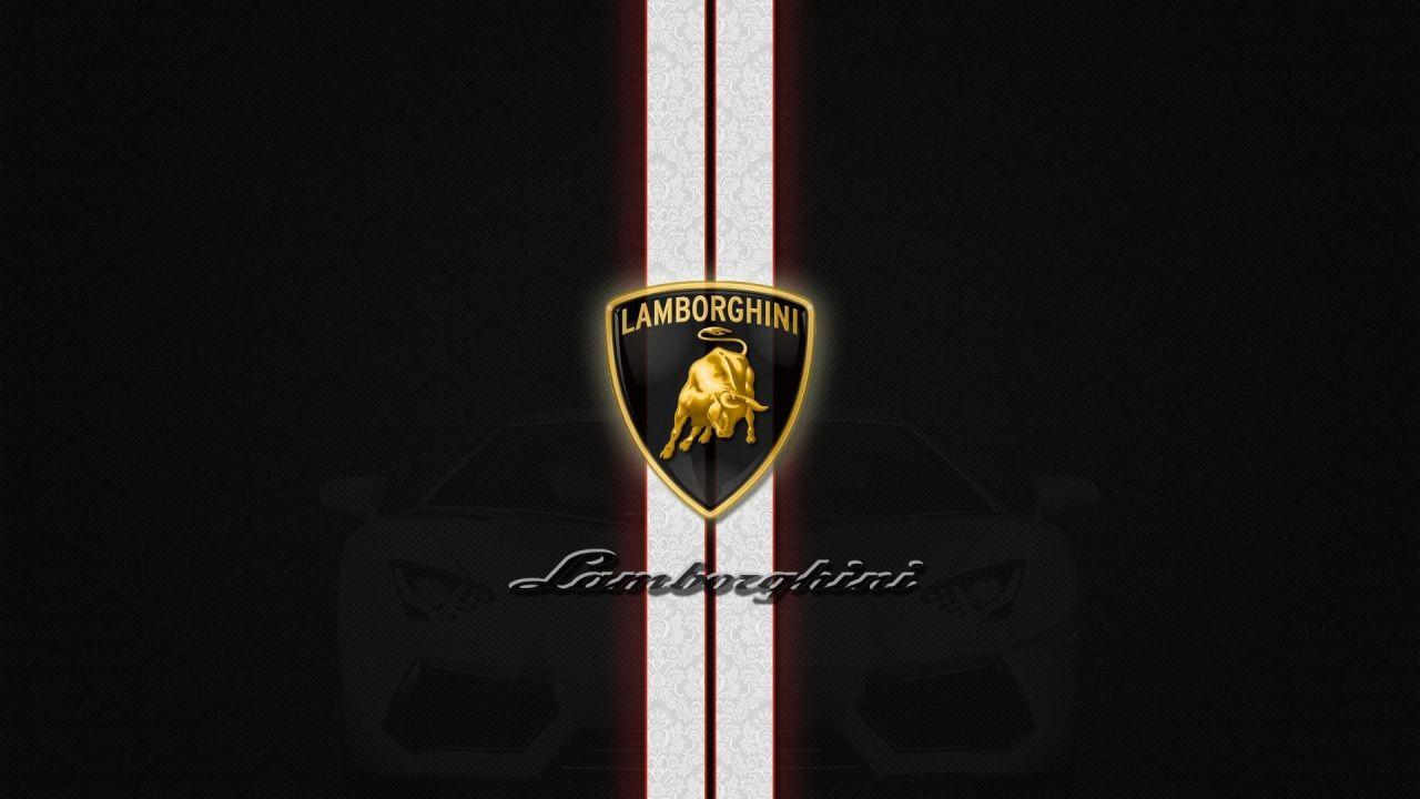 Lamborghini Logo Background High Definition Wallpaper Free