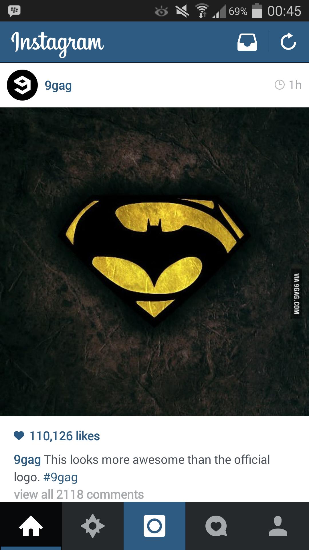Batman V Superman Logo Concept