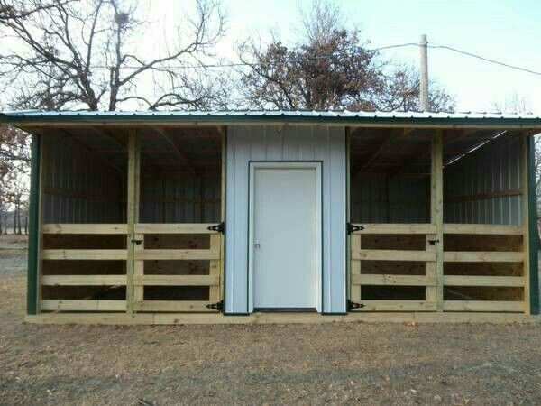Pin by rebecca bezuyen on barn design inspiration pinterest barn horse and horse barns Horse run in shed plans design