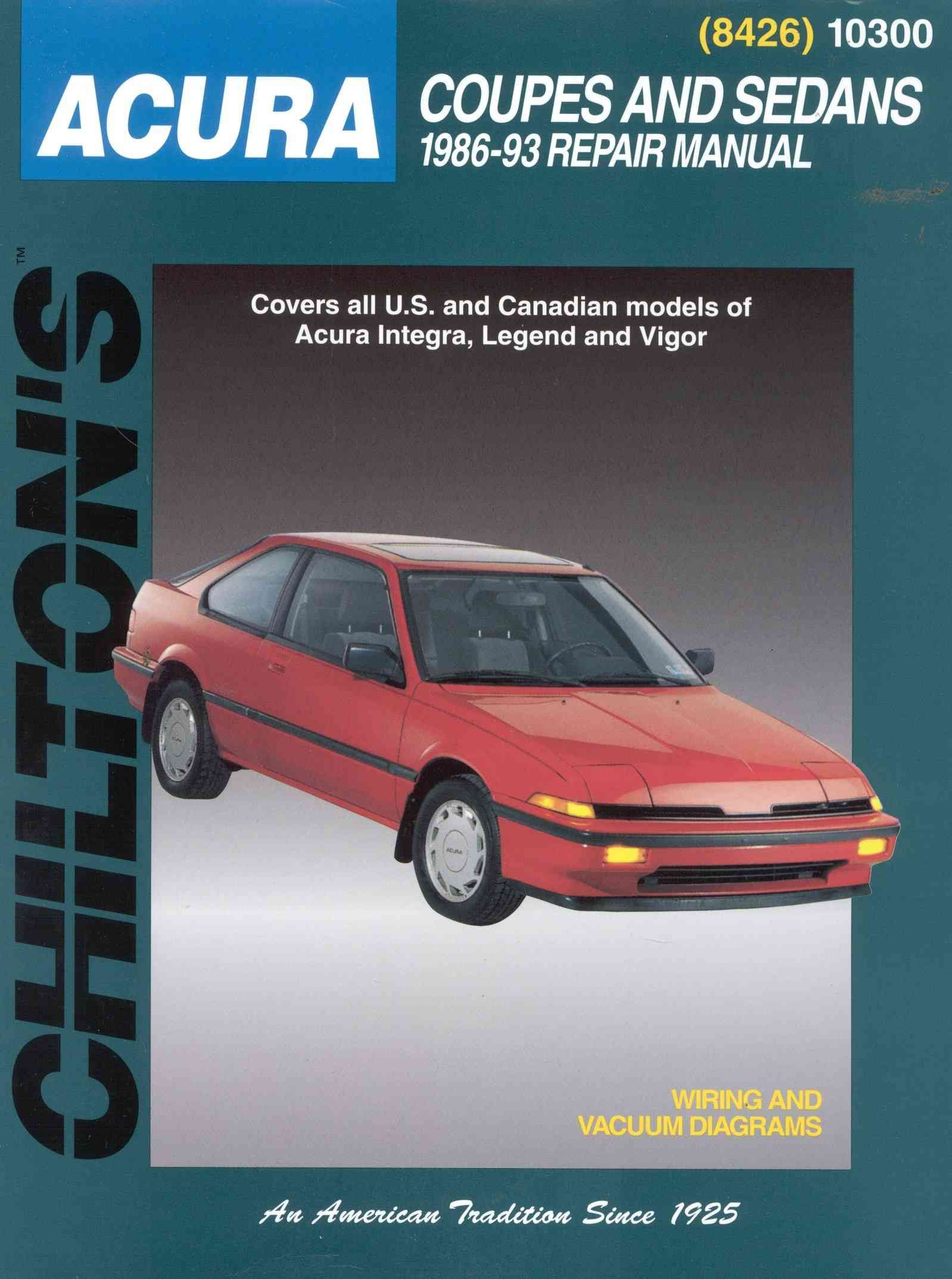 Chiltons acura coupes and sedans 1986 93 repair manual paperback precision series chiltons acura coupes and sedans 1986 93 repair manual fandeluxe Image collections