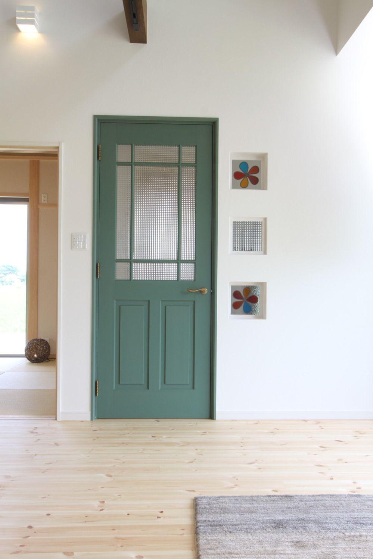 玄関ドア 室内ドア 建具事例集 室内ドア ドア 注文住宅
