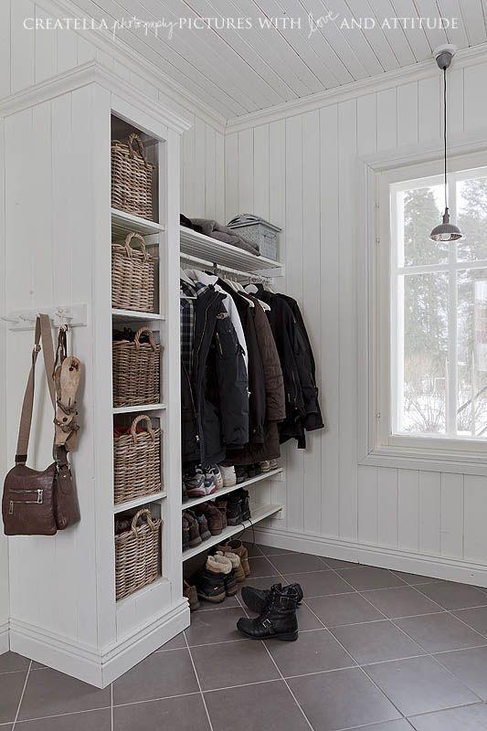 Garderobe Mein Shabby Home Pinterest Garderoben, Flure und - flur idee
