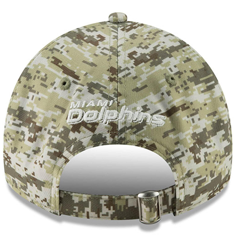 good uk store half off Men's New Era Camo Miami Dolphins Digi 9TWENTY Adjustable Hat ...
