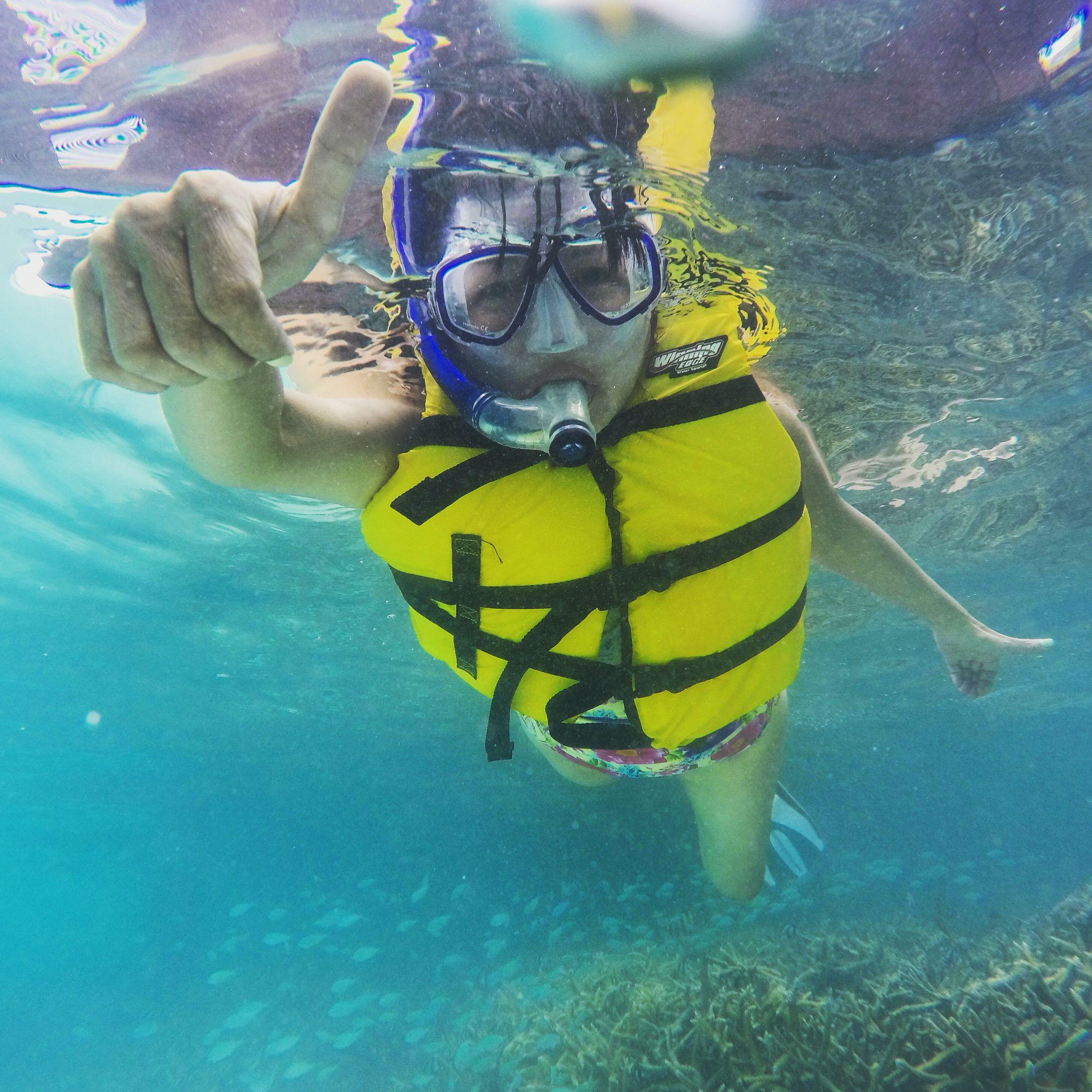 Keep calm and go Snorkeling • Maldives