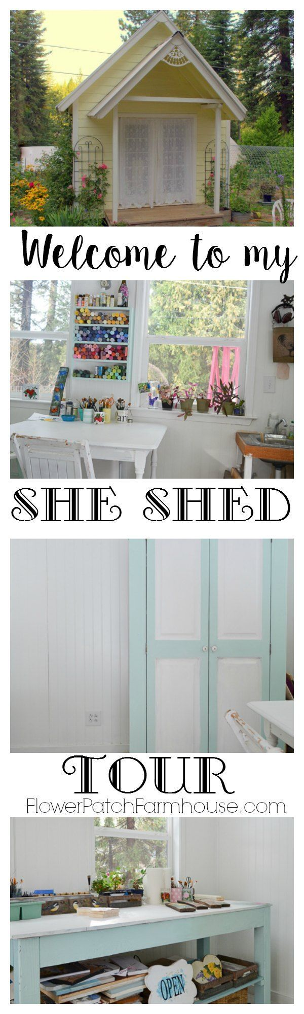 A Fantastic She Shed For Dreaming, Creating And