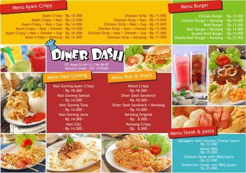 Food Menu Design For Restaurant  Examples Of Restaurant Menu