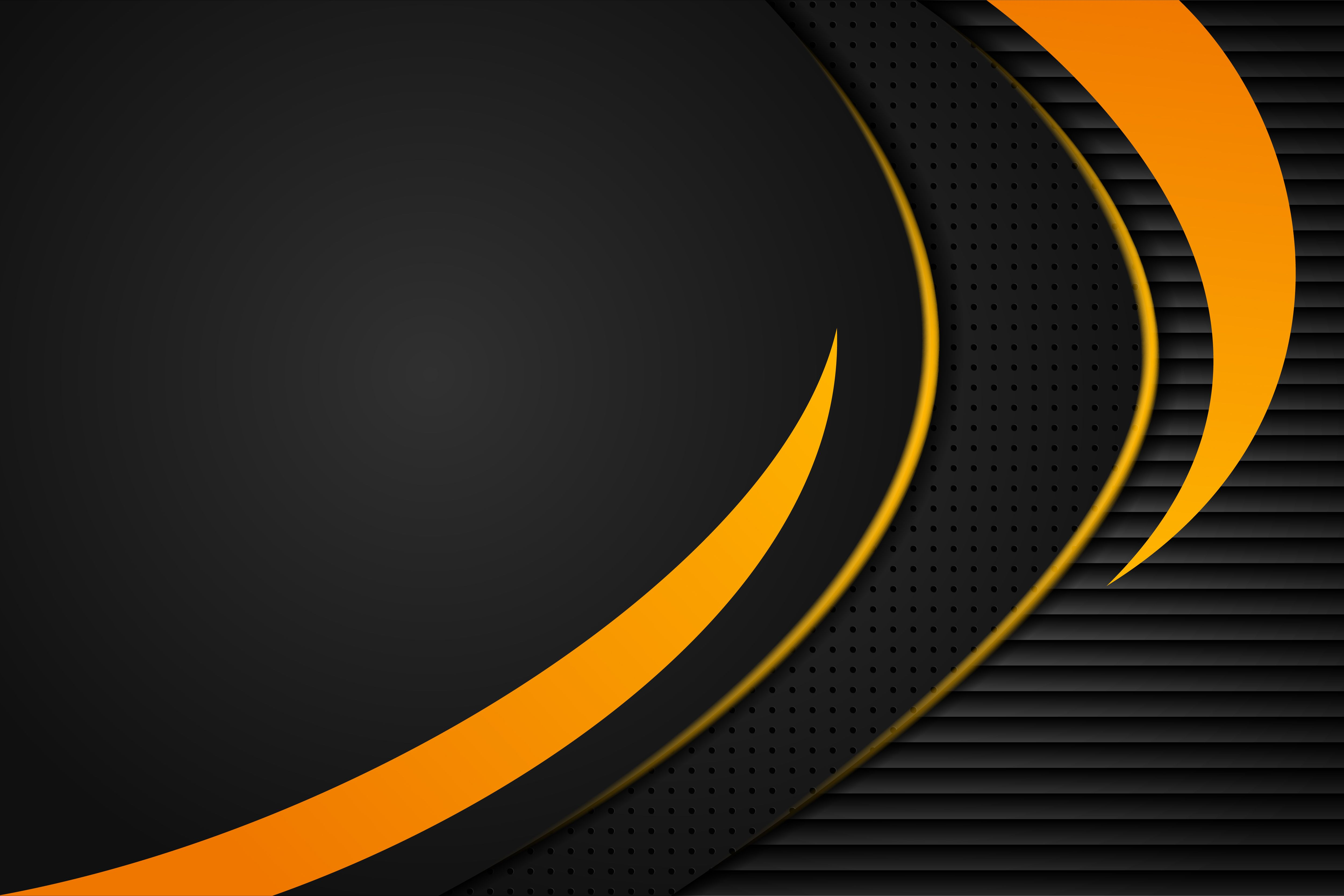 Orange Black Abstract Curve Background Graphic By Noory Shopper Creative Fabrica In 2021 Black Abstract Background Black Abstract Background