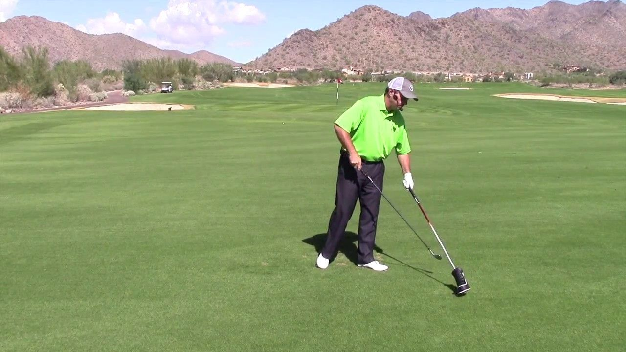 How to hit the stinger golf shot being able to play a