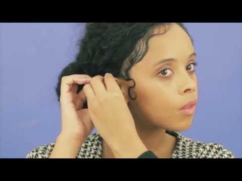 FKA Twigs inspired kiss curls hair style how to | ASOS hair tutorial - YouTube