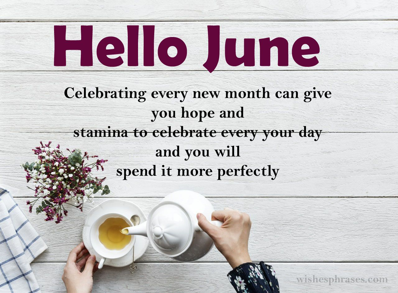 Happy June Quotes  June quotes, Inspirational quotes, Quotes