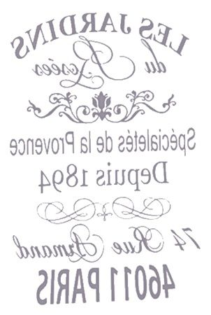 reverse transfer French graphics | Projects to try | Pinterest ...