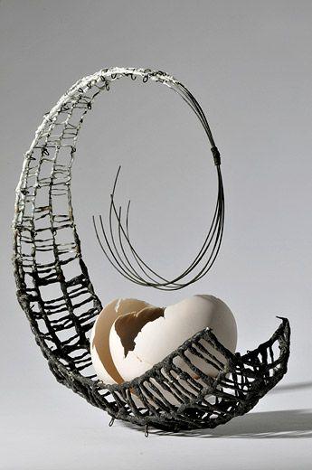Pin von Donna Anderson auf Weaving | Pinterest | Draht, Korbflechten ...