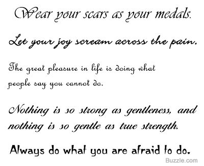 Awesome Courage and Strength Tattoo Ideas | Tattoo quotes ...