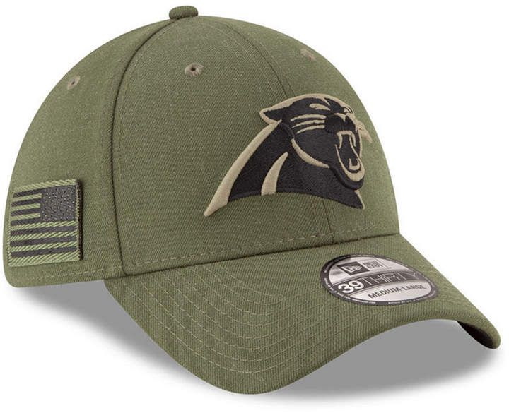 8b0609cba New Era Carolina Panthers Salute To Service 39THIRTY Cap