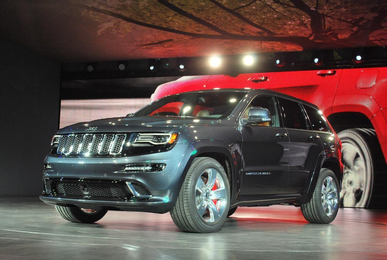 Высокопроизводительный 2014 Jeep Grand Cherokee SRT8