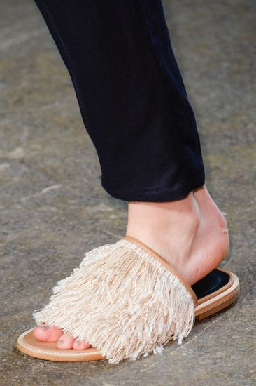 The Top 8 Shoe Trends For Spring 2015  They double as a mop.