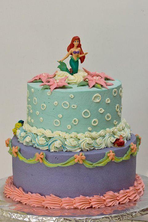 Little Mermaid Cake by Rachel N Milwaukee WI www