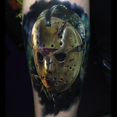 Tattoos By Paul Acker Horror Tattoo Movie Tattoos Horror Movie