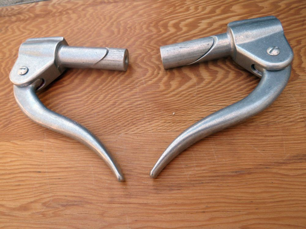 inverted lever pair triumph harley yamaha xs bmw cafe racer