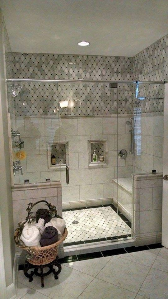 صور تصاميم ديكورات حمامات مودرن In 2020 Shower Remodel Modern Master Bathroom Bathroom Remodel Shower