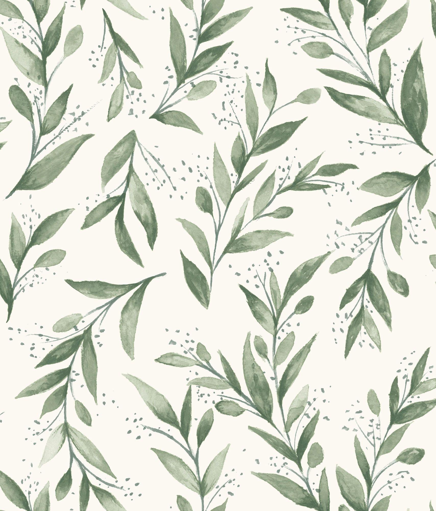 Magnolia Home PickUp Sticks Wallpaper Navy, White in