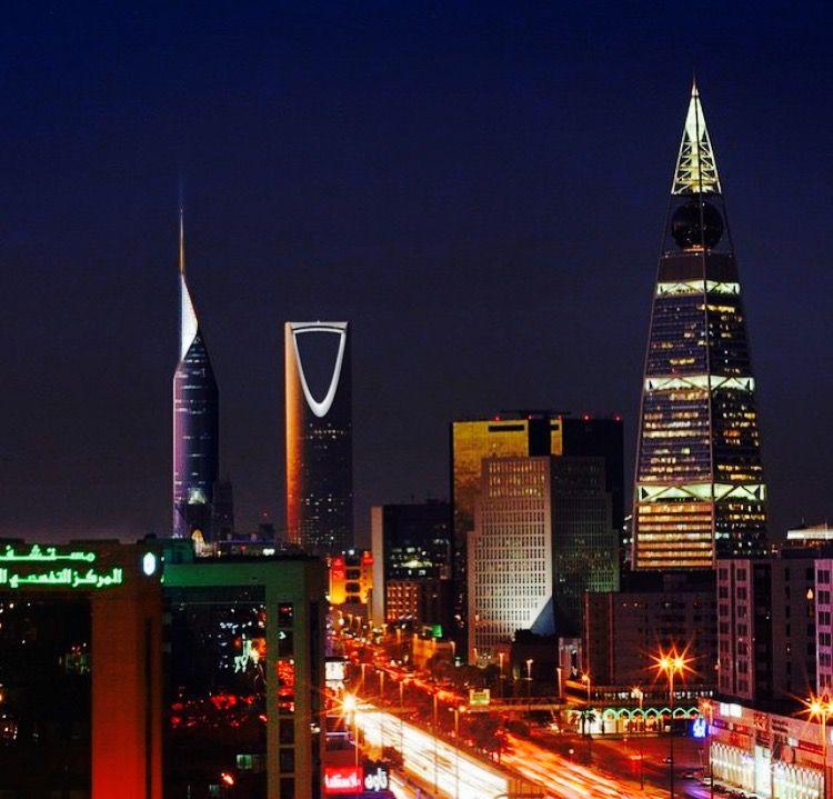Skyscrapers Of Riyadh Riyadh Saudi Arabia Riyadh Saudi Arabia