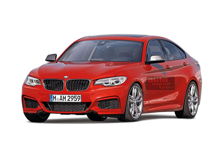 Bmw 2 Series Gran Coupe Rendered Again Bmw Gran Coupe Coupe