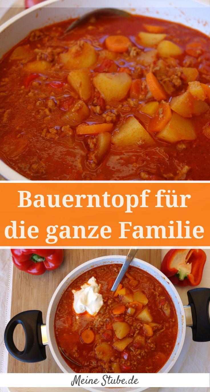 Bauerntopf für die ganze Familie - super einfach - MeineStube #meatfood