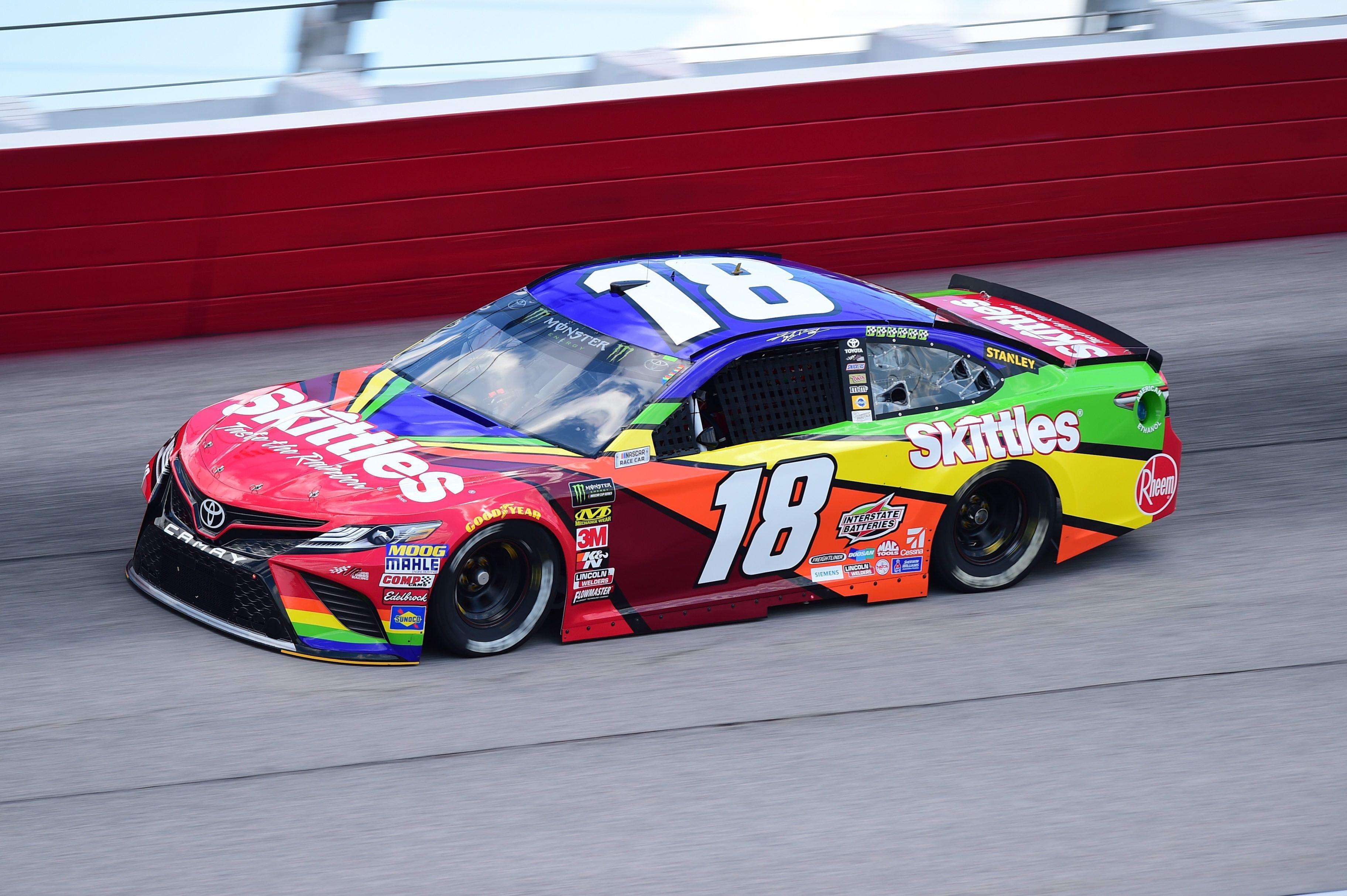 Kyle Busch Talks Rumors For Nascar 2021 Independent Rear Suspensions Racing News Nascar Nascar Race Cars Nascar Tires
