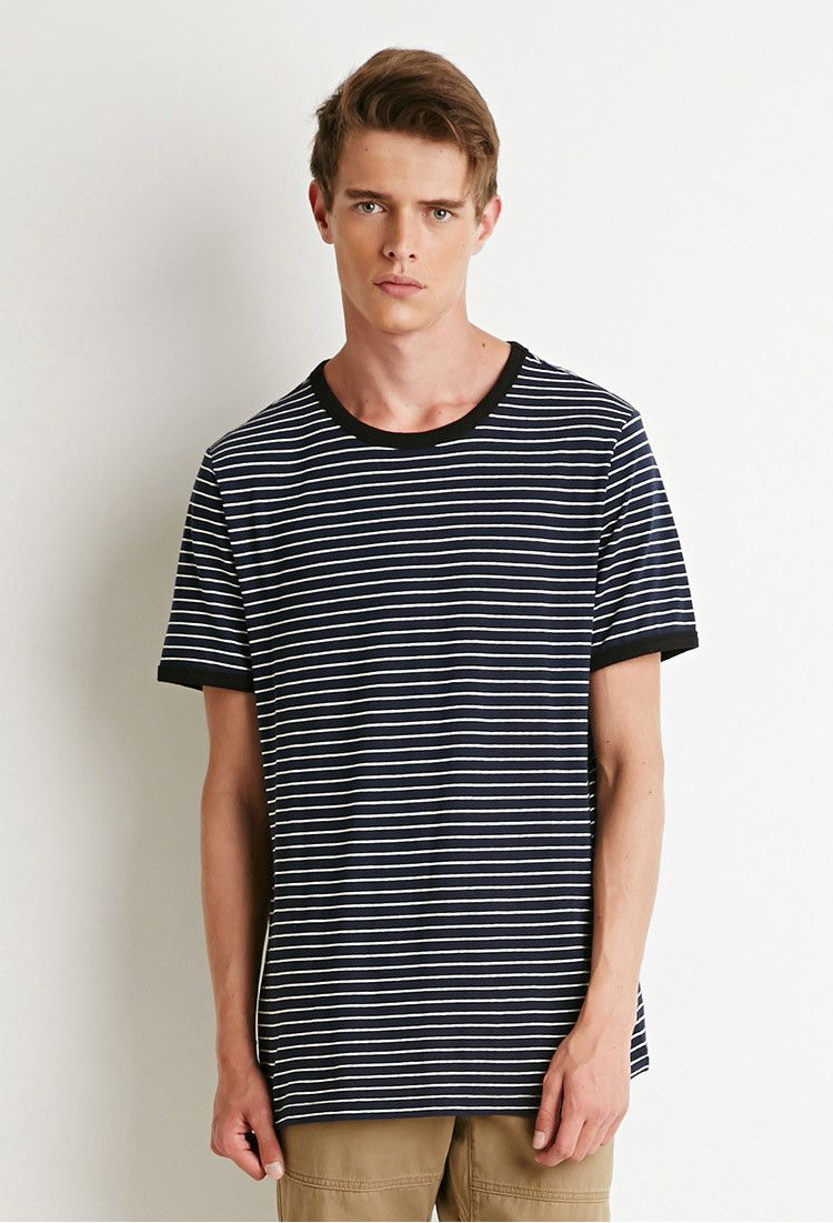 Striped Ringer Tee 21 Men 2000183753 Menswear