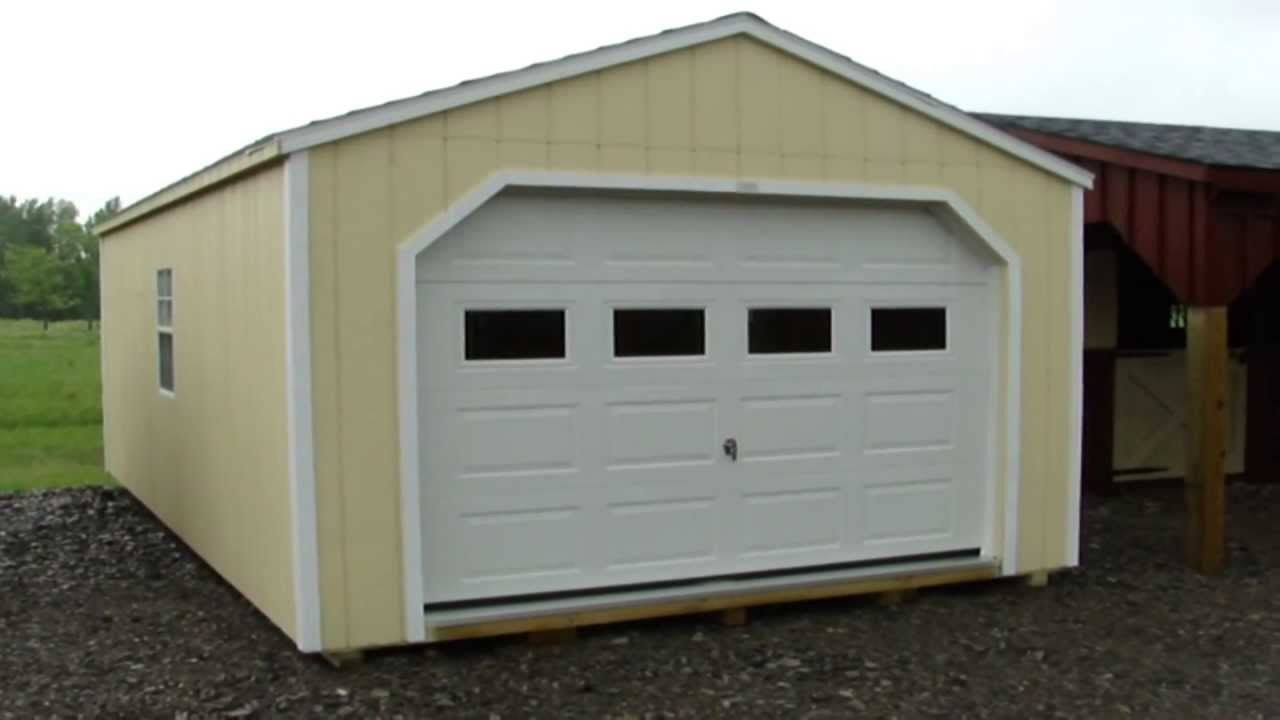 Portable Garages And Storage Sheds By North Country Sheds Visit Northcountrysheds Com For More Information Cheap Storage Sheds Shed Plans Barn Style Shed