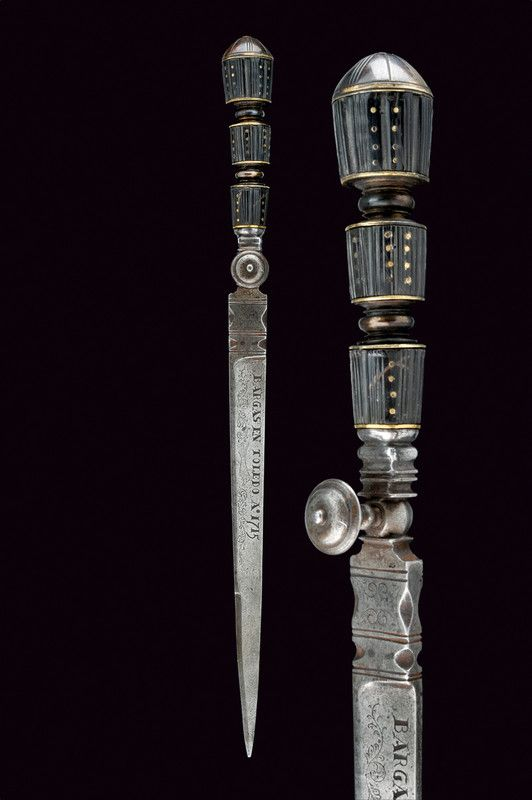 A dagger   provenance:Spain dating: first quarter of the 18th Century