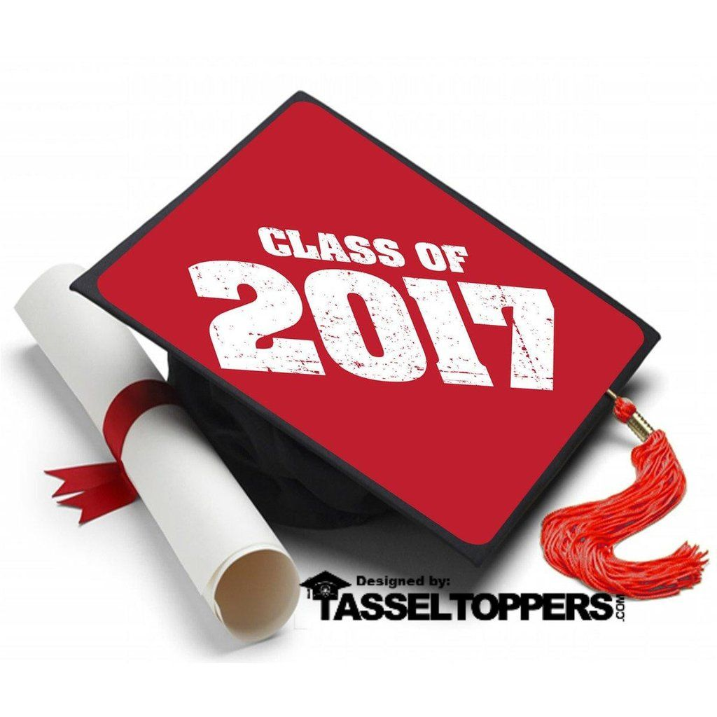class of 2017 grad cap tassel topper tassel toppers