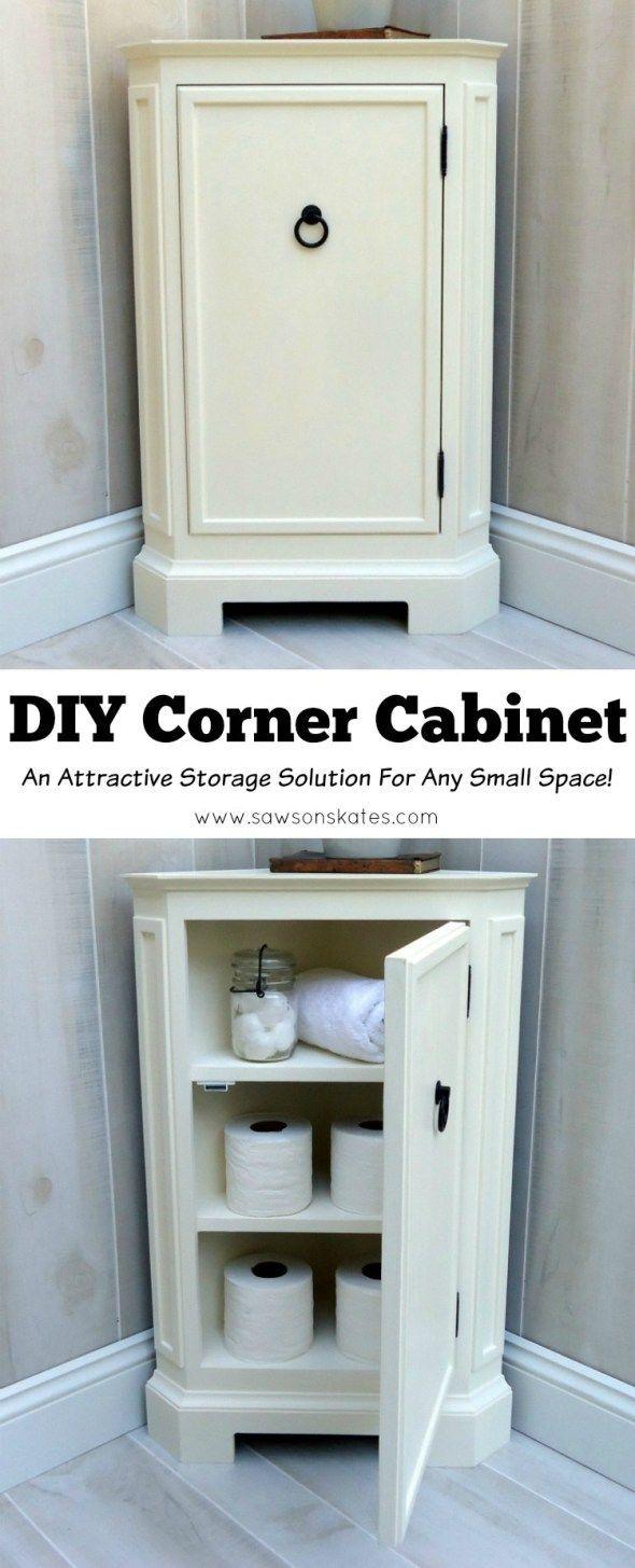 Diy Corner Cabinet Inspiredcatalog Retailer  Extra Storage Classy Small Corner Cabinet Bathroom Design Ideas