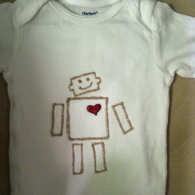 Baby Valentine's Onsie