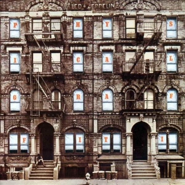 e7c71581b Led Zeppelin - Physical Graffiti (album cover art) Picture was taken on St.  Marks in NYC   the building is still standing