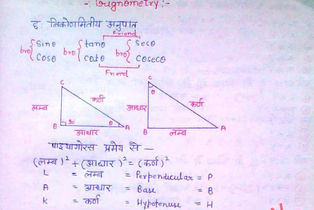 Hindi basic physics in formulas pdf