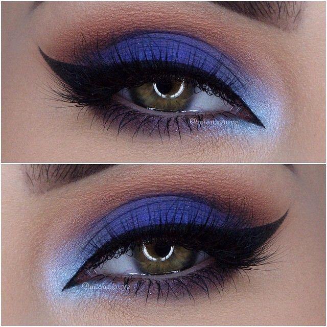 Resultado de imagen para blue makeup eye girl – Galena U.