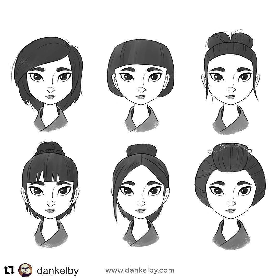 #wooomic #wooolikes #illustrationartists #illustration #characterdesign #hairstyles #characterdevelopment @dankelby