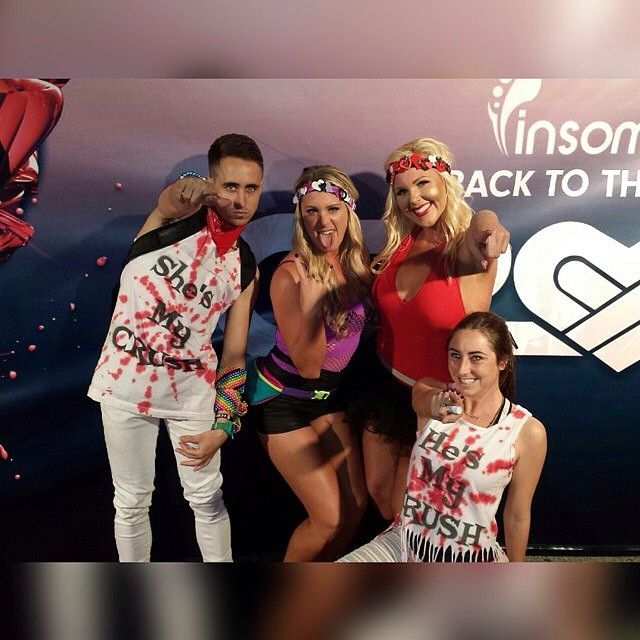 Love was the vibe at @insomniacevents #CrushSoCal party Saturday night in San Bernardino, CA. Friends and groups like @voodoo_crew gathered to celebrate #love and epic #beats from Tommy Trash, The Chainsmokers and many more!