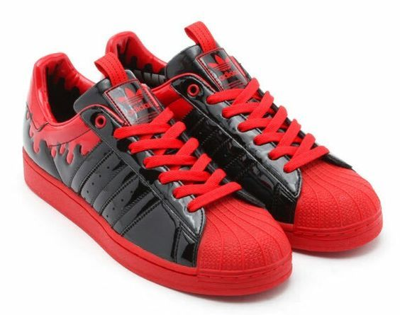 adidas superstar rouge daim