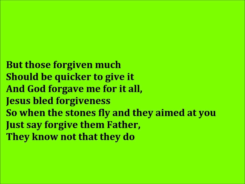 Image result for Forgiveness by TobyMac lyrics