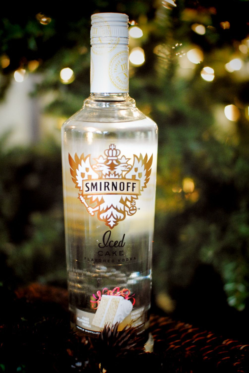 Smirnoff Iced Cake flavored vodka A simple mix of the ginger