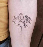 23 Remarkable Mountain Tattoos – Tattoo Insider  23 Remarkable Mountain Tattoos – Tattoo Insider    This image has get 78 repins.    Author: Anna Mari…