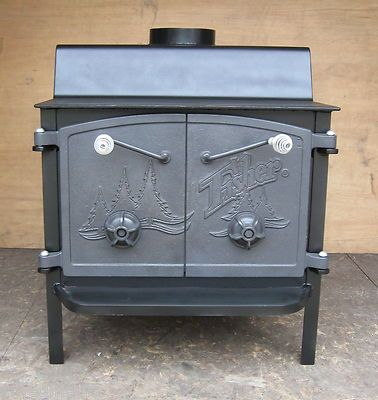 Fisher Wood Stove Whole House Heater Pick Up Ship Acton