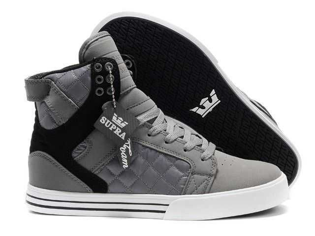 best loved 00b3b dcb89 Gray and Black with a hint of White Adidas Suede Sneakers, High Top  Sneakers,